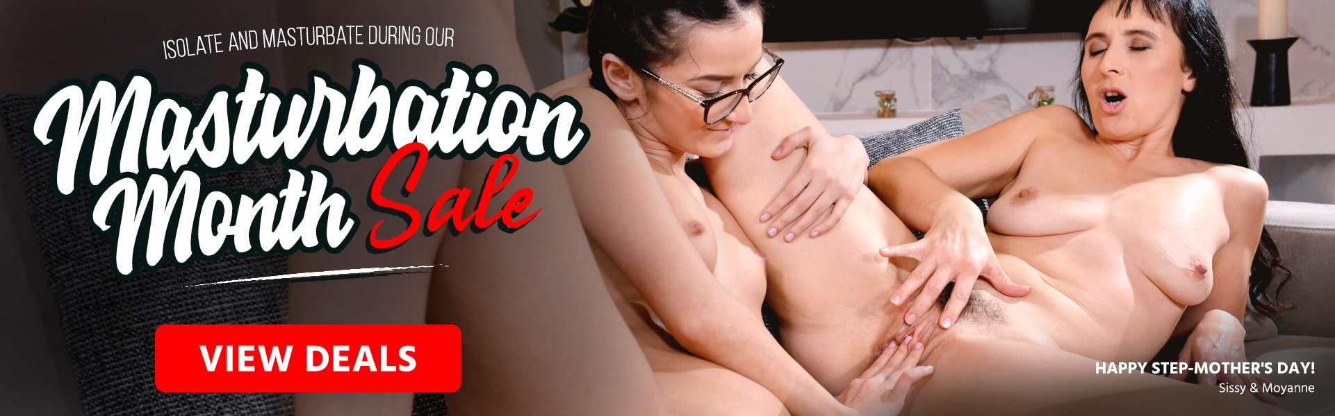 21Sextreme, Masturbation Month Sale